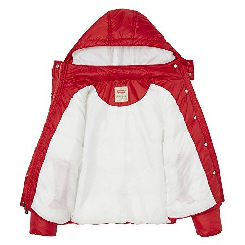 Raincoat scuro Kids 37 rosso Coat Red Girl Levi's 85wOvqRv