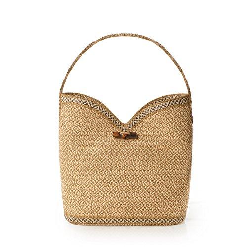 Eric Javits Luxury Fashion Designer Women's Handbag - Watusi - Peanut by Eric Javits