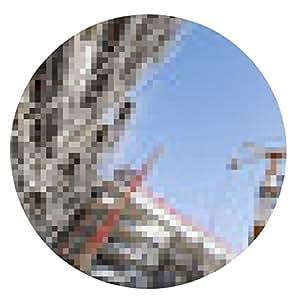 alfombrilla de ratón gigante de la industria de la construcción panorámica - ronda - 20cm
