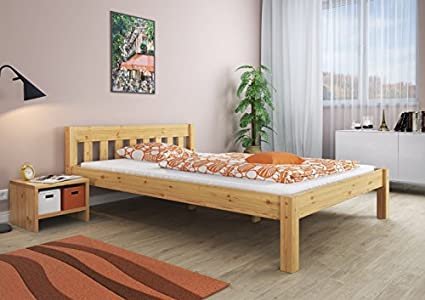 Letto matrimoniale letto matrimoniale 180 x 200 letto legno pino