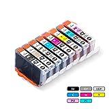 Canon CLI-42 Ink Cartridge Replacement, 8 Pack Compatible Canon CLI42 Ink Cartridges Used for CanonPixma Pro-100 Printer (1 Black | 1 Cyan | 1 Gray | 1 Light Gray | 1 Magenta | 1 Yellow | 1 Photo Cyan