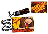Donkey Kong Tri-Fold Wallet with Chain