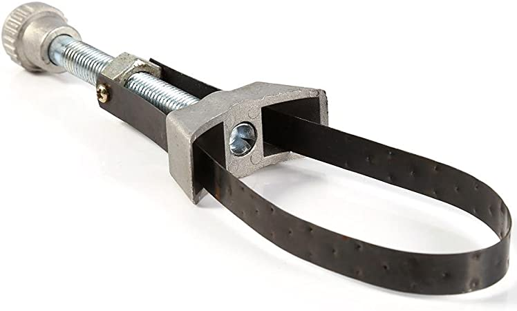 Auto-adjust Car Oil Filter Strap Wrench 60-120mm Diameter Remove Repair Tool Kit