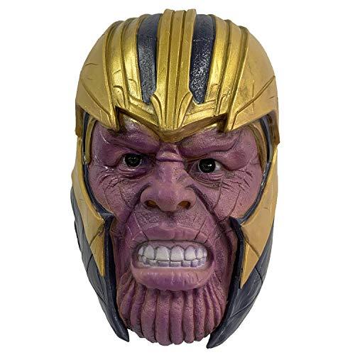 ZhangHD Thanos Mask Cosplay Latex Full Head Helmets