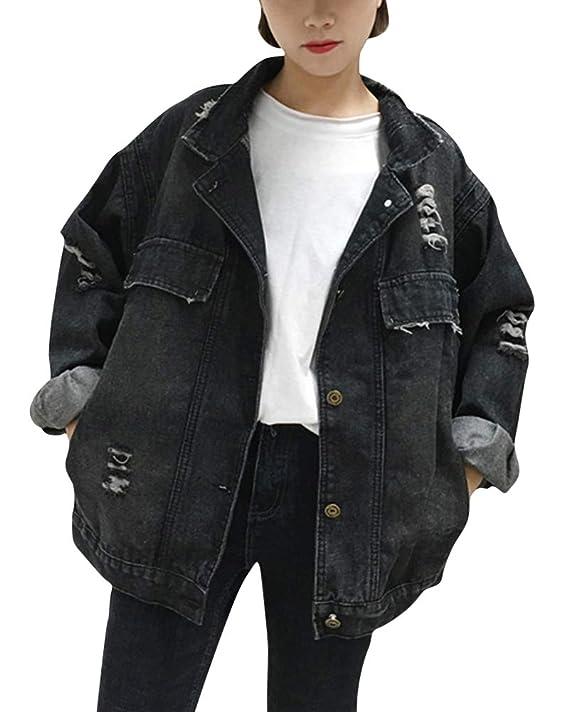 Zerrissene jeans jacke
