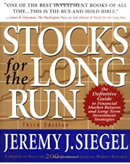 stocks for the long run 5e the definitive guide to financial market returns longterm investment strategies