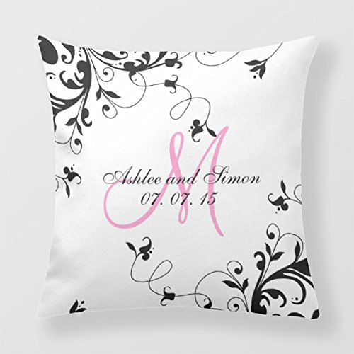 lightinglife Decor Throw almohada Inicial para recuerdos de ...