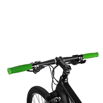 ROCKBROS Lenkergriffe Fahrrad Einseitig Lock-on Griffe Anti-Rutsch TPR Gummi