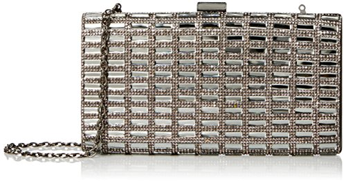 la-regale-full-crystals-clutch-handbag-grey-one-size
