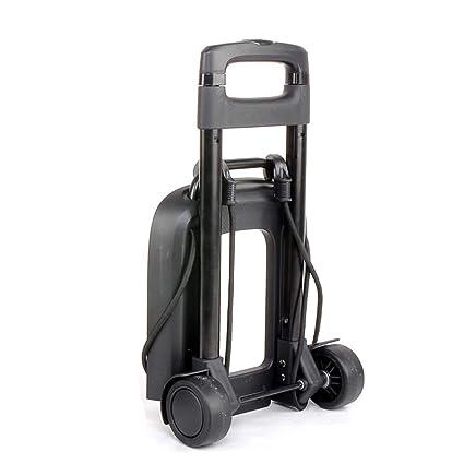 b096c75ab5db Amazon.com: Luggage Cart 2 Wheel Folding Luggage Trolley Travel ...