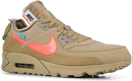 Nike Air Max 90 Off White The 10 Sneaker: : Schuhe