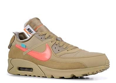 separation shoes 7d60a 48059 Nike Air Max 90 x Off White - Parachute Beige/Bright Mango Trainer:  Amazon.co.uk: Shoes & Bags