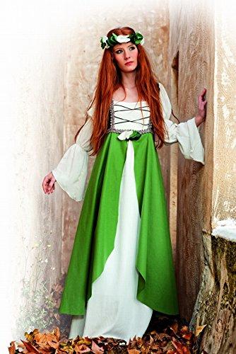 Limit Sport - Disfraz medieval Clarisa, para adultos, color verde, talla XL (MA580): Amazon.es: Juguetes y juegos