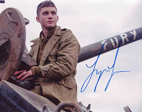 Logan Lerman In-person Autographed Photo From Fury from Sign Here Autographs