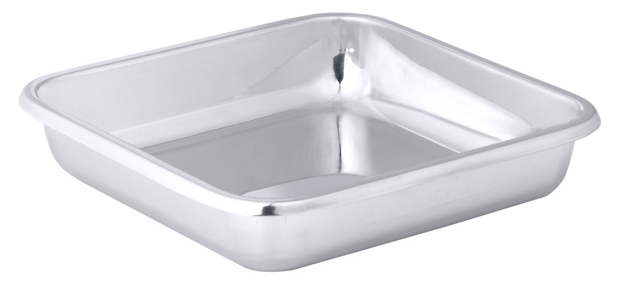 Hammer Stahl 8'' x 8'' Square Bake Pan, Stainless Steel