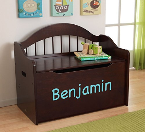 Personalized Premium Edition Toy Box Espresso Buy