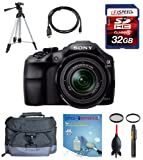 Sony a3000 alpha a3000 ILCE-3000K/B, ILCE3000 w/ 18-55mm Zoom Lens + Deluxe Accesory Kit