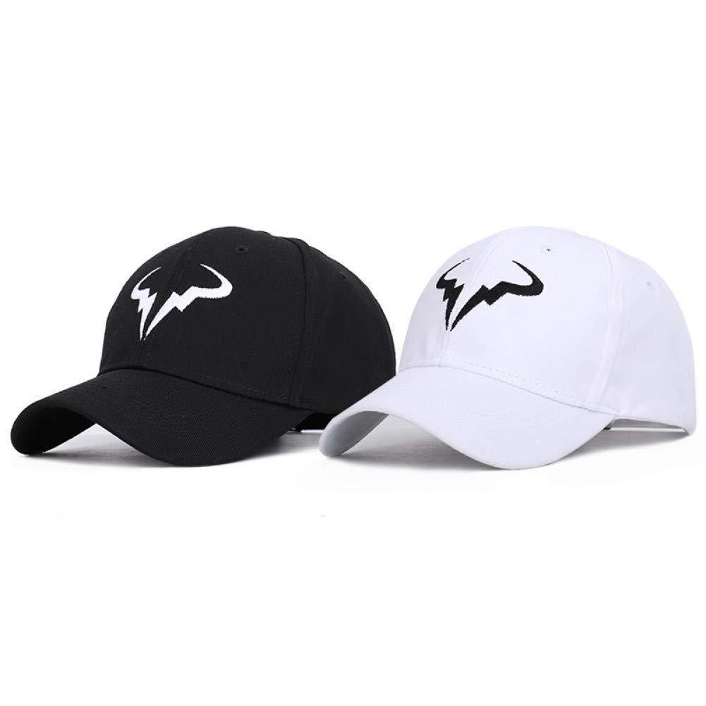 Black Outdoor Sports hat Baseball Cap Fashionable Baseball Cap Tennis Player No Structure Dad Hat Men Women Snapback Caps Bone Embroidery Hats GrljdHat