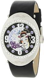 Ed Hardy Women's SV-BK Sovereign Black Watch