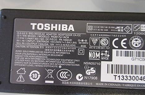 Amazon.com: 65 W Cargador de 19 V AC adaptador de ...