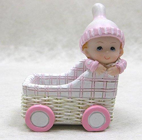 COOLMP - Set di 12 cestini in Resina per neonata, Taglia Unica, Decorazione per Feste, Animazione, Compleanno, Matrimonio, Eventi, Giocattoli, Ptuttioncino