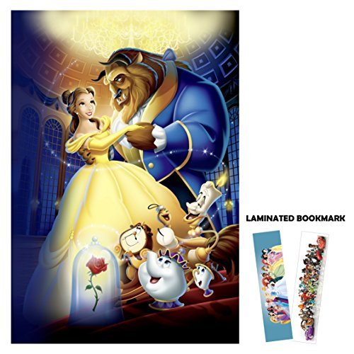 Disney's Beauty and The Beast (1991) - Dancing - Movie Poster Reprint 13