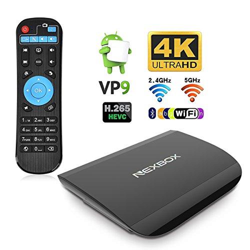 TV Box Android 6.0 4K Smart Box Amlogic S912 Octo-…