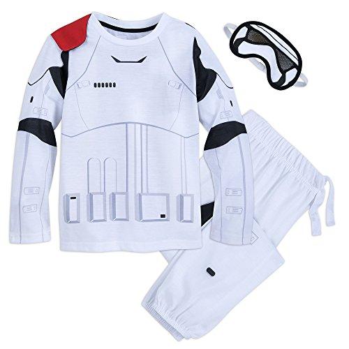Star Wars Stormtrooper Deluxe Costume PJ Set for Boys Size 5/6 Multi for $<!--$32.00-->