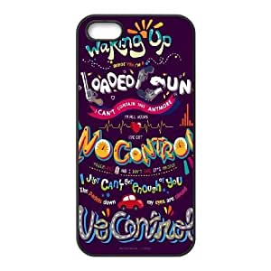 Cheap Plstic Case for iPhone 5,iPhone 5s w/ One Direction Quote image at Hmh-xase (style 2) by waniwa