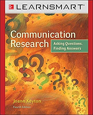 LearnSmart for Communication Research: Asking Questions, Finding Answers