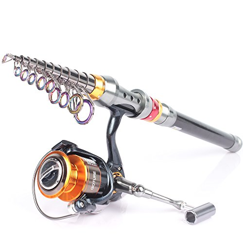 Goture Spinning Rod and Reel Combos Carbon Telescopic fishing Pole With Spinning Reel 2.7M 3.0M 3.6M 4000 11BB CNC Handle Sea Saltwater Freshwater Kit Fishing Rod Kit