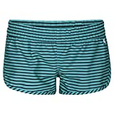 """Hurley Women's Supersuede Stripe Beachrider 2.5"""" Board Shorts, Washed Teal - L"""