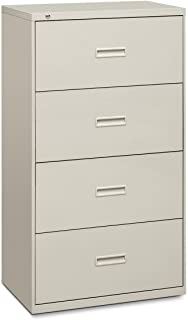 product image for HON, 434LQ, 4-Drawer Lateral File, 53h x 30w x 19.2d, Light Gray, Sold as 1 Each