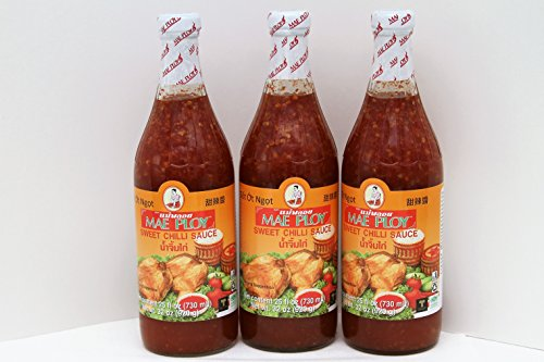 Sweet Chili Sauce - 25 oz (Pack of 3) (Thai Chicken Spring Rolls)