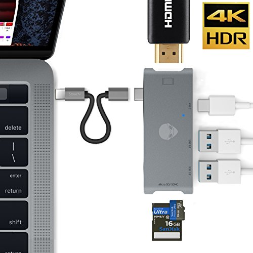 Stouch USB C HDMI HUB Adapter for MacBook Pro 2015/2016, 7 i