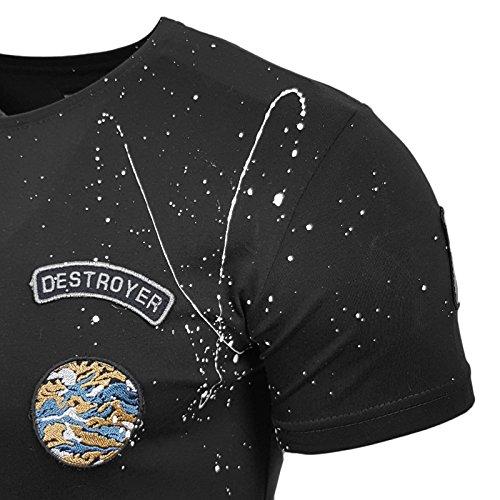Rusty Neal Herren T-Shirts T-Shirt schwarz schwarz S