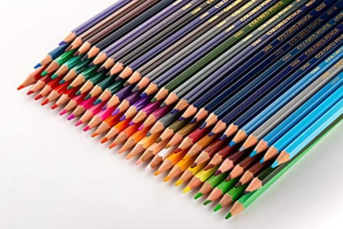 Cyper Top 72 Colored Pencils Oil-Based Set, Professional ...