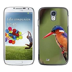 SKCASE Center / Funda Carcasa - Pico plumas verde;;;;;;;; - Samsung Galaxy S4