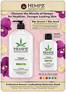 product image for Hempz Original Herbal Body Moisturizer (21 Oz & Travel Size 6 Oz)