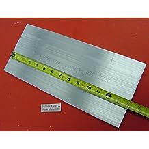 "2 Pieces 3/"" X 4/"" ALUMINUM 6061 FLAT BAR 3.75/"" LONG SOLID T6511 Mill Stock"