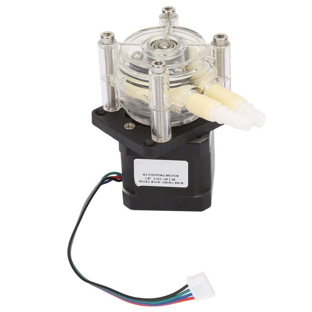 Wandisy Korrosionsbest/ändige selbstansaugende Vakuum-Schlauchpumpe mit hohem Durchfluss und Schrittmotor 6~30V