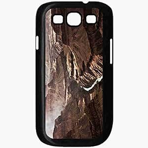 Unique Design Fashion Protective Back Cover For Samsung Galaxy S3 Case Grand Canyon Arizona US Travel Black