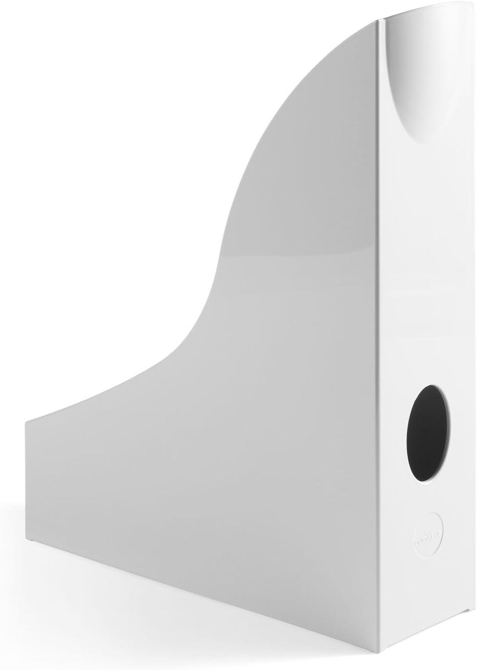 Polystyrol DURABLE Hunke /& Jochheim Stehsammler BASIC grau 73 x 306 x 241 mm