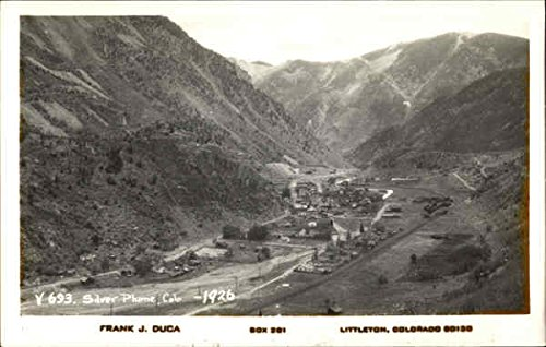 Silver Plume Co >> Amazon Com Birdseye View Silver Plume Colorado 1926