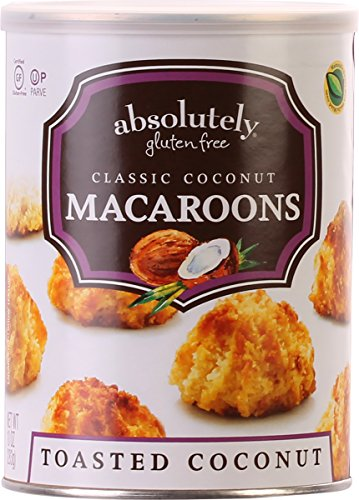 Absolutely Gluten Free Macaroons, Coconut 10oz (2 (Toasted Coconut Macaroons)