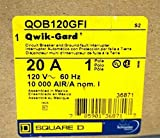 Square D QOB120GFI Bolt On Circuit