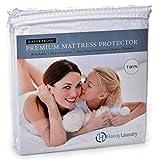Handy Laundry Premium - Protector de colchón Impermeable, hipoalergénico, sin Vinilo, 10 años de garantía