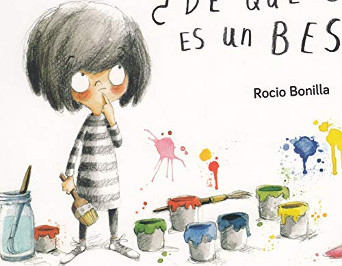 De qué color es un beso (Libros de Cartón) por Bonilla Raya, Rocio