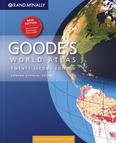 Goodes Atlas 22nd Hardcover (Goode's World Atlas)