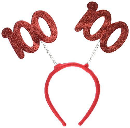 100 Glittered Boppers Party Accessory (1 count) (1/Pkg) -